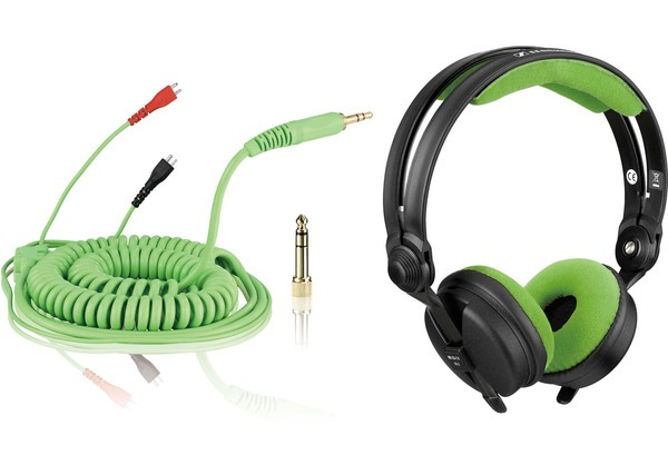 Bundle: HD 25 Cable DeLuxe 3,5 m + Earpads Velour - mint_1
