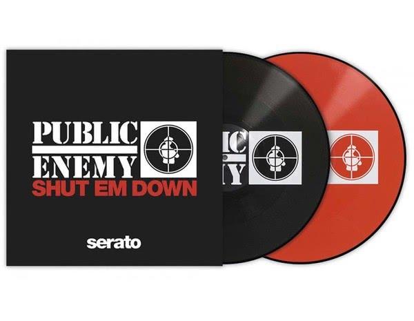 "Serato Artist Pressing 2x12"" - Public Enemy 'Shut Em Down'_1"