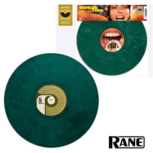 Rane Serato Pressings Do Right! Maylee Todd Timecode Vinyl grün (1 Stück)_1