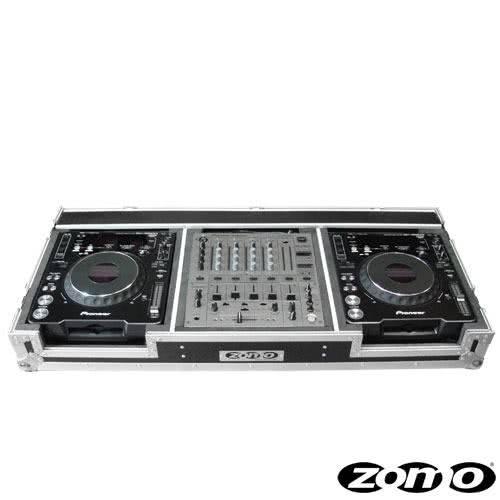 Zomo Flightcase P-1000/12 pour 2 x CDJ-900/1000 + 1 x DJM-600/700/800_1