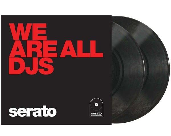 """Serato Control Vinyl 2x10"""" - We are all DJs_1"""