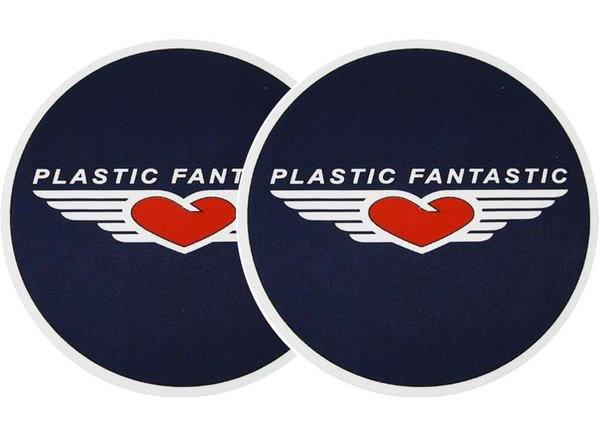 2x Slipmats - Plastic Fantastic_1