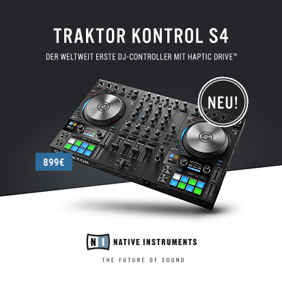 Zum NI traktor Kontrol s4 mk3