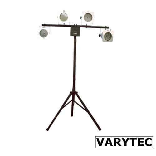 Varytec RGB LED PAR56 Set round polish_1