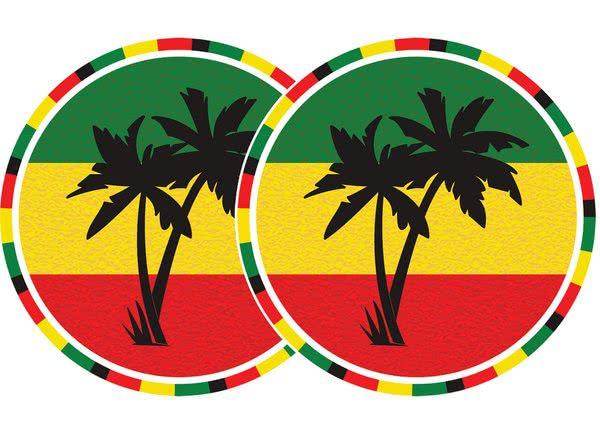2x Slipmats - Jamaica_1