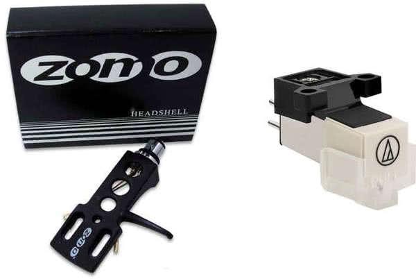 Audio Technica 3600 L + Zomo Headshell_1