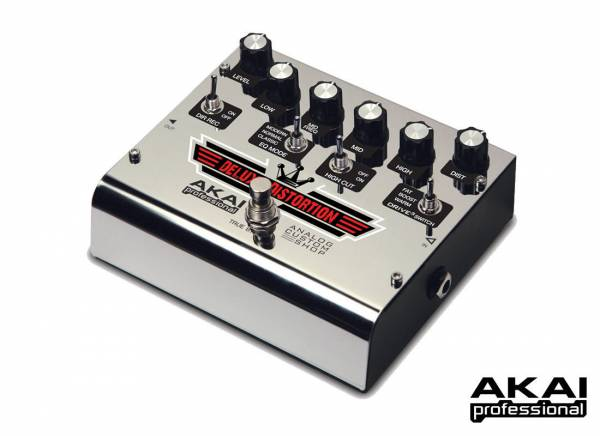 AKAI Professional Effects Pedal Deluxe Distortion_1