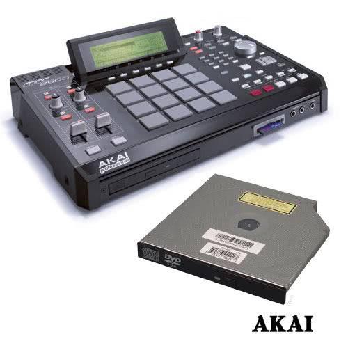 Akai MPC-2500 + CD-M25 Bundle_1