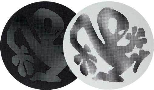 2x Slipmats - Plasticman Dots - Black & White_1