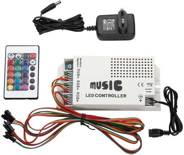 Zomo Deck Stand LED RGB Soundcontrol_1