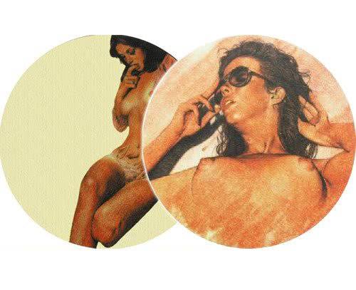 Slipmats Pin up Girls - Paquet de deux_1