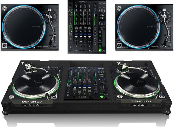 Bundle: 2x Denon VL-12 + Denon DJ X1800 + Zomo VLX-1800 NSE_1