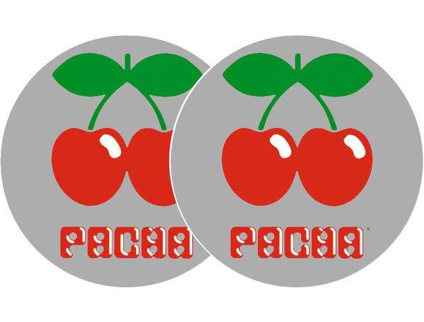 2x Slipmats - Pacha - plata_1