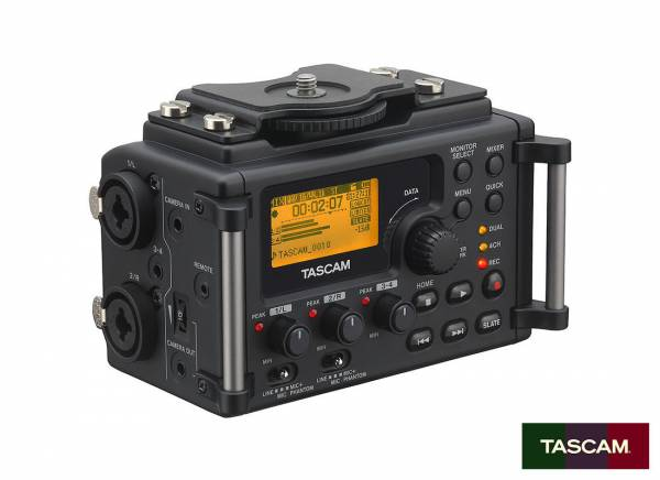 Tascam Audio Recorder for Camera DR-60D MK2_1