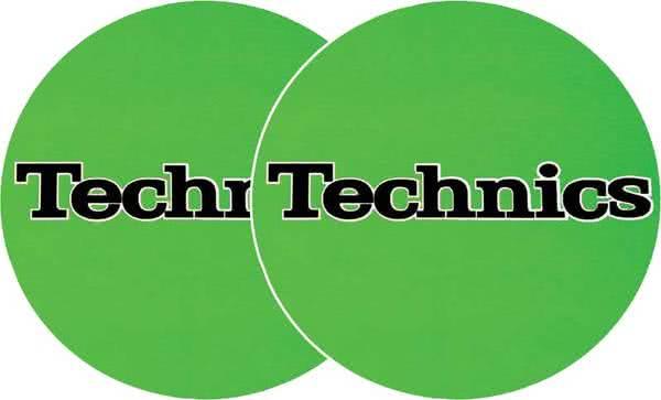 2x Slipmats - Technics - Verde_1